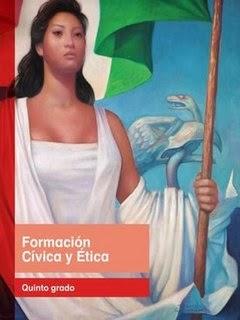 Libro de texto Formación Cívica y Ética Quinto grado. Ciclo escolar 2014-2015.